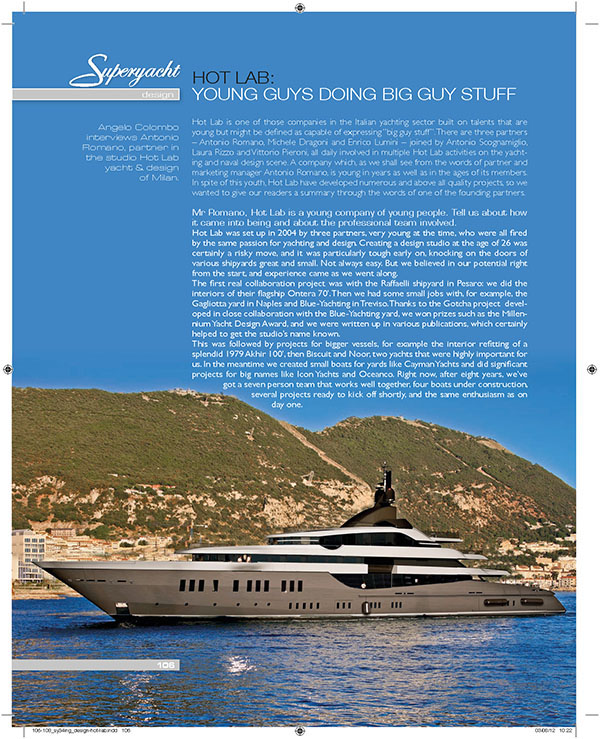 Superyacht International,numero 34/2012