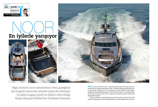 Yacht Türkiye, issue 62/2011