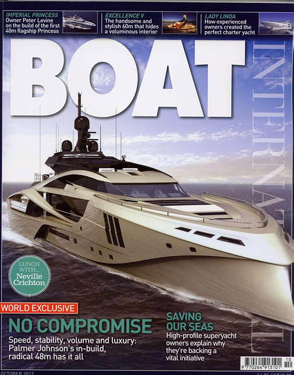 Boat International, issue 316, October 2012