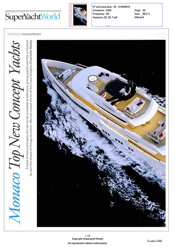 SuperYacht World, issue 33, Sept/Oct 2013