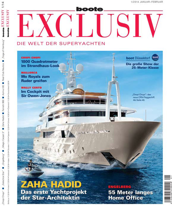 Boote Exclusiv, issue 1/14, January/February 2014