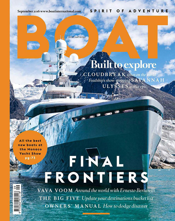 Boat International, September 2016