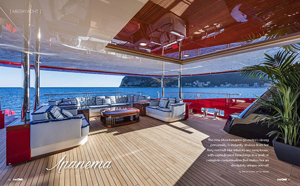 The One - Yacht & Design, issue 1/2017