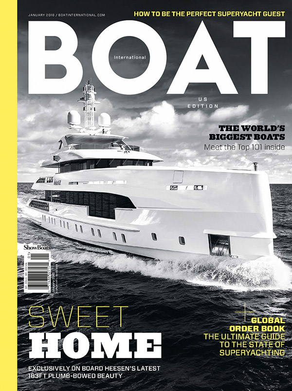 Boat International, January 2018