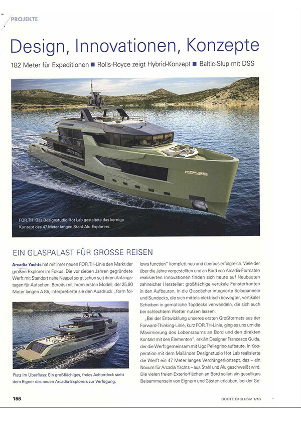 Boote Exclusiv Germany, January 2018
