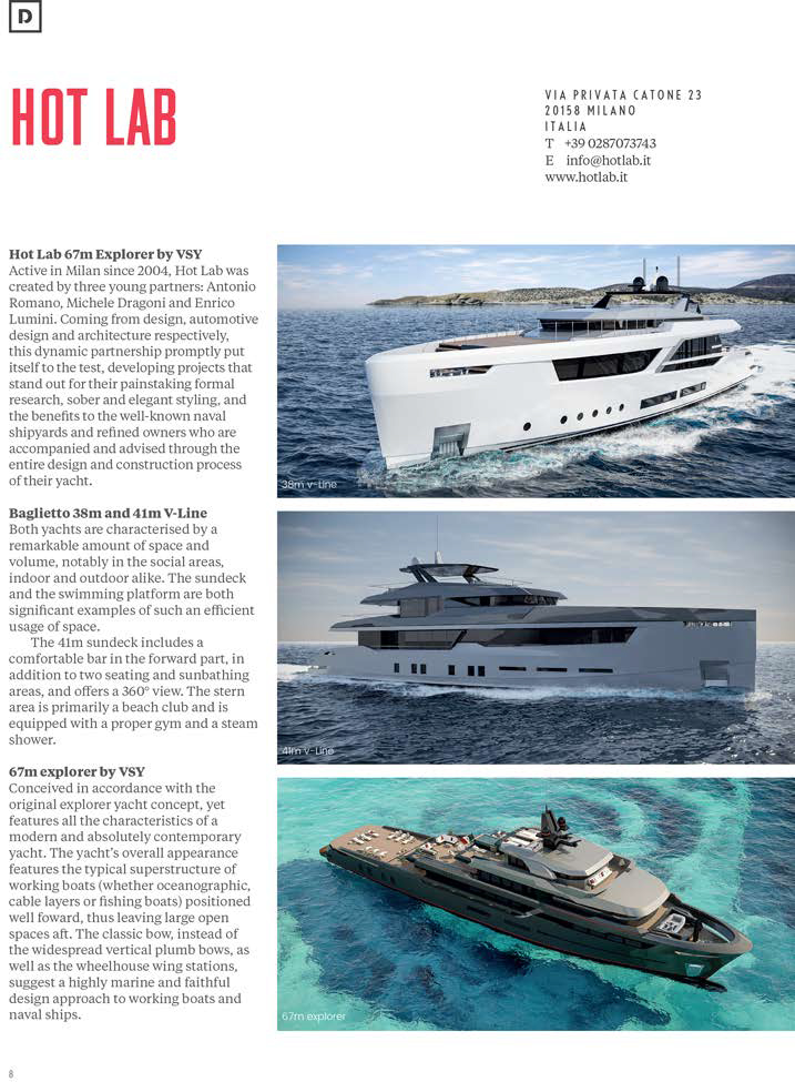 The Superyacht Design Report, issue 183/2017