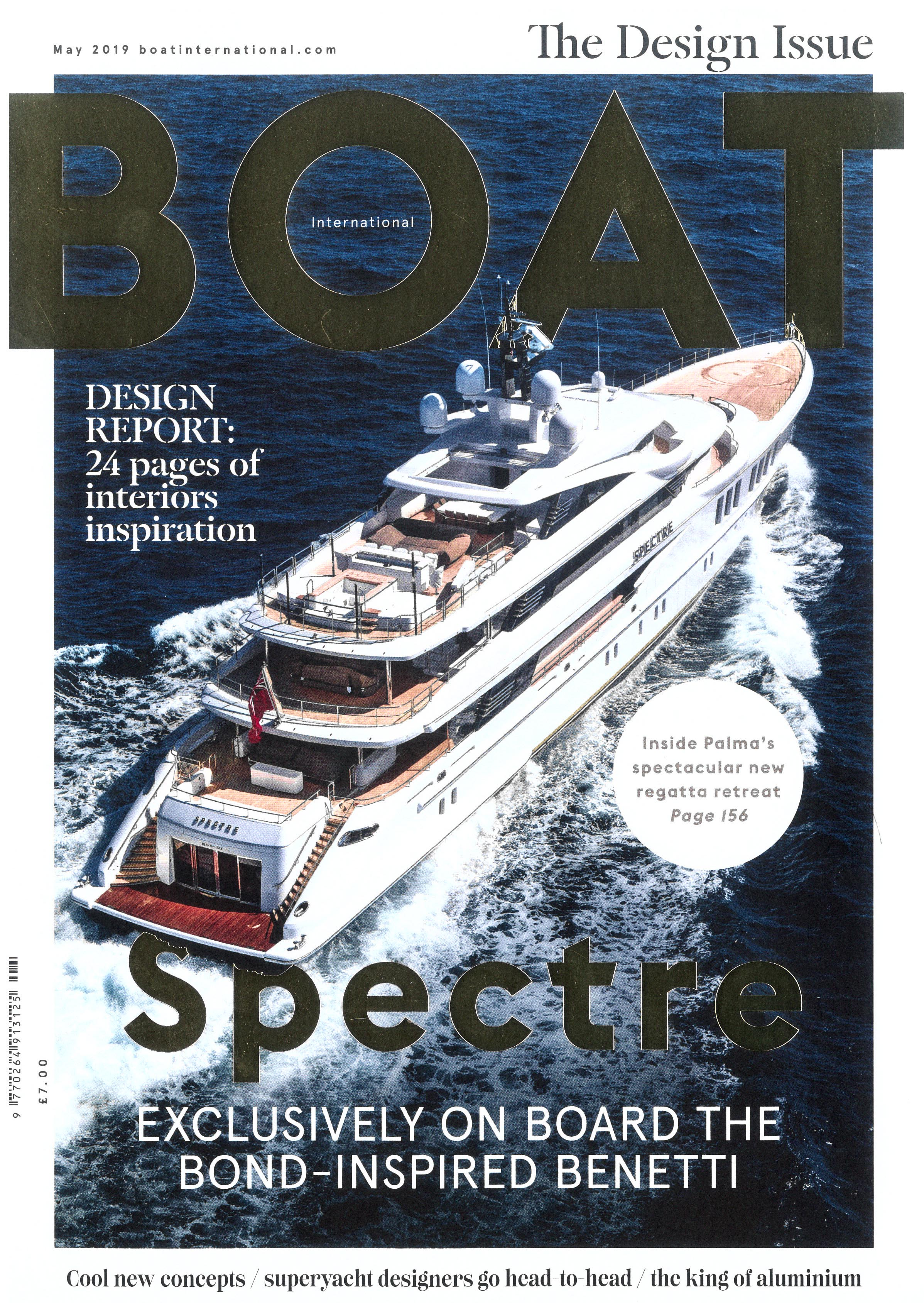 Boat International US edition, May 2019