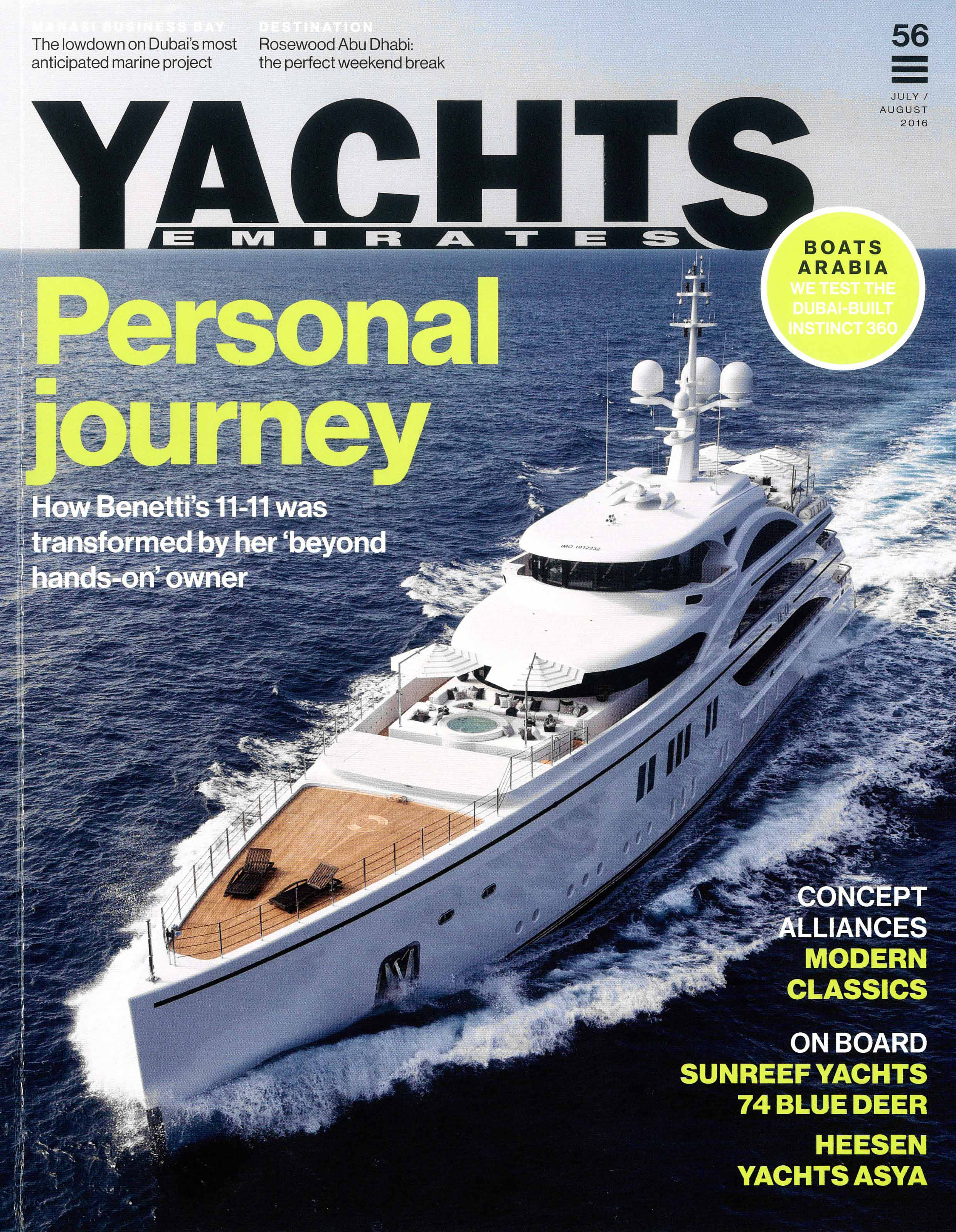 Yachts Emirates, issue 56/2016