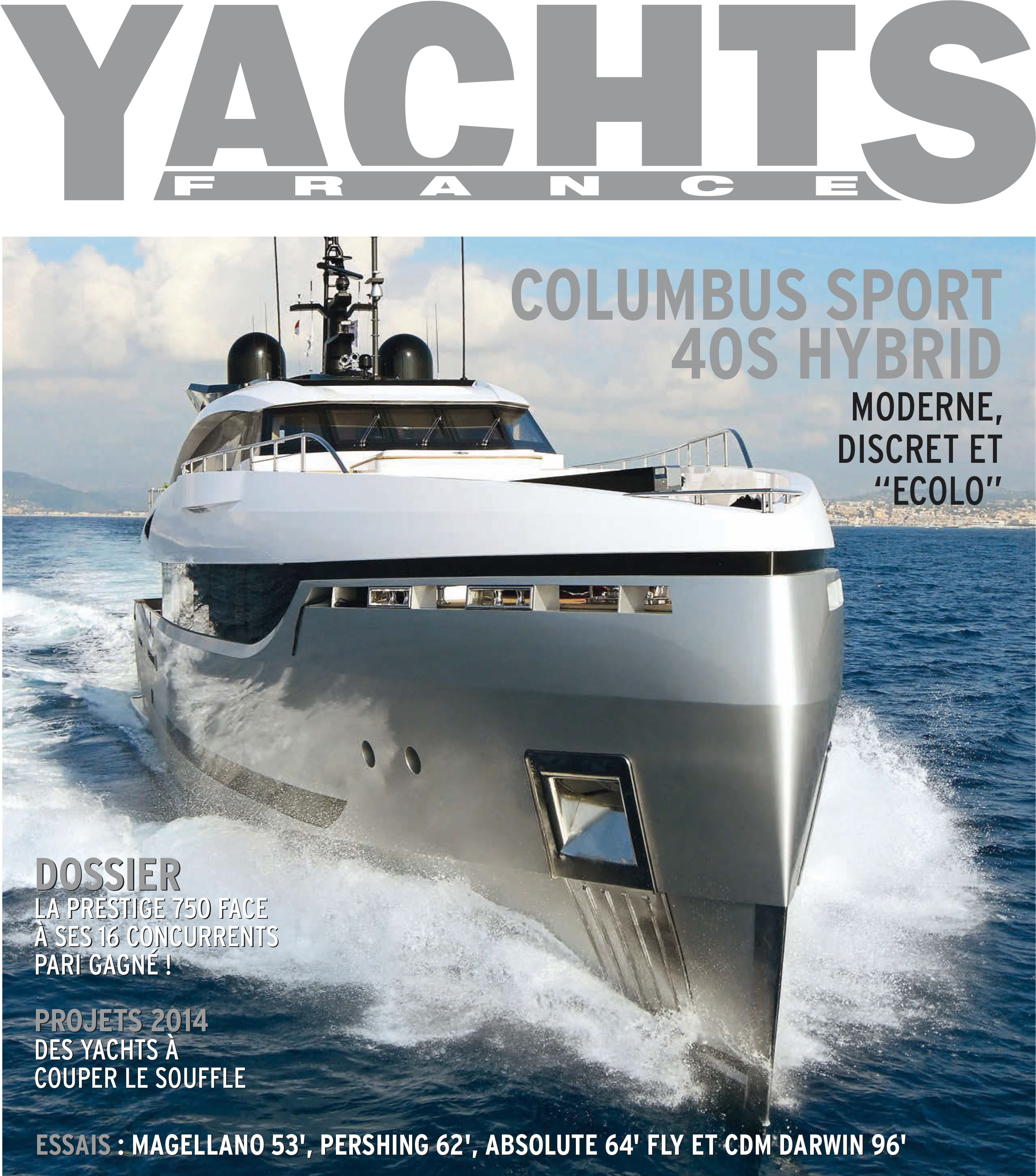 Yachts France, January/February 2014